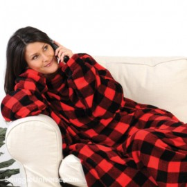 Buffalo Plaid Snuggie® Women
